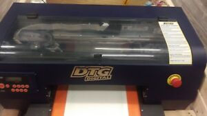 Working Dtg Viper Digital Direct To Garment Printer Fast Sale Name Your Price