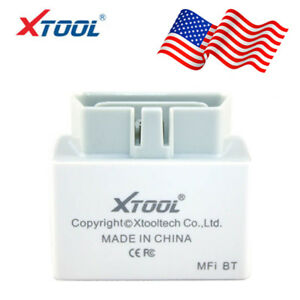 Xtool Iobd2 Obd2 Bluetooth Diagnostic Tool Code Reader For Ios Android Us Stock