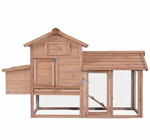 Chicken Poultry Coop Hen House Rabbit Hutch Cage small 0313s Not Applicable