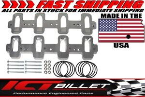 Ls1 Cathedral Head Adapter Rectangle Port Intake Manifold Lsa Supercharger Zl1 C
