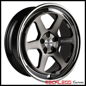18 Klutch Slc2 Wheels Ddt Concave Rims Fits E38 Bmw 740 750