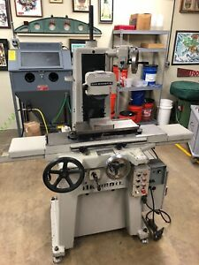 6 X 18 Okamoto Model Pfg 450c Hydraulic Surface Grinder 1988 Will Ship