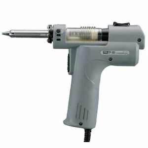 New Goot Tp 100 Electric Vacuum Desoldering Iron 100v 50 60hz With Tracking