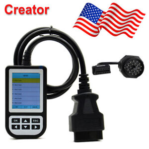 Creator C110 Obd2 Code Reader Diagnostic Scan Tool Bmw 20pin Cable Us Stock