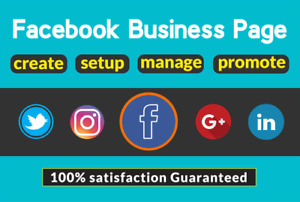 I Will Create Manage And Promote Your Facebook Business Page And Setup Facebook