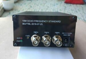 10mhz Ocxo Frequency Standard Reference 2 ch Sine Wave 1 ch Square Wave