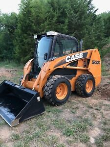 Case Sr220 Skid Steer Loader Under 1100 Hours Great Condition