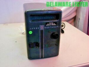 leeds Northrup Cat No 2430 c Galvanometer Light Beam Reflecting Lab Unit