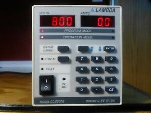Lambda Lls 5008 Variable Regulated Power Supply 0 8v 0 10a