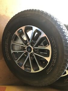 Used 18 Inch Rims And Tires Off Of Brand New Ford F150