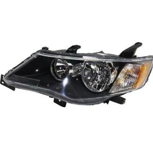 For Nsf 2007 2008 Mitsubishi Outlander Lh Left Driver Headlamp Headlight