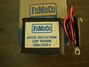Nos Oem Ford 1966 1968 1968 Light Warning Buzzer Galaxie Mustang Fairlane 1969