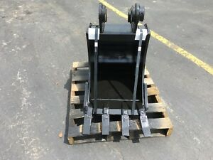 New 18 Case Cx60c Heavy Duty Excavator Bucket W Coupler Pins