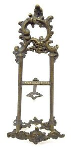 Antique Bronze N1 Free Standing Decorative Small Picture Portrait Frame Stand
