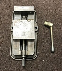 6 Cnc Milling Machine Vise With Handle