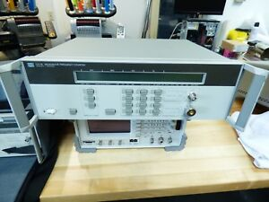 Hp Agilent Keysight 5351b 26 5 Ghz Frequency Counter W opt 10 Hso And 06 Limiter
