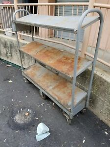 Win Holt U cart Steel Deck Angled Shelves 300 60 sdr