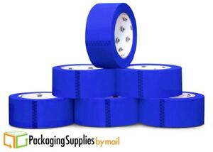 2 Mil Colored Packing Tape 2 Inch X 55 Yards Blue Carton Sealing Tapes 108 Rolls