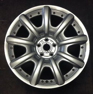 Bentley Continental 2004 05 06 07 08 2009 3w0601025k 98043 Oem Wheel Rim 19 X 9