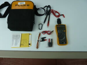 Fluke 116 Multimeter Temperature Microamps Hvac With Soft Case Pre owned