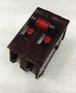 A260ni Wadsworth 2 Pole 60 Amp 240v Circuit Breaker 2 Year Warranty