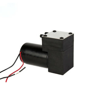 Micro Air Pump 12v Air Pump Single Head Vacuum Pump High Vacuum Micro Air Pump