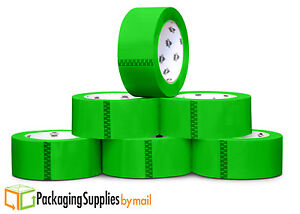 2 Mil Colored Packing Tape 2 Inch X 55 Yds Green Carton Sealing Tapes 108 Rolls