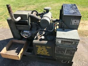 Military Mep 002a Mep002a 5kw 60hz 120 208 240v Portable Diesel Generator