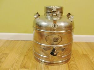 Vintage Chrome Super Chef Chrome 3 Gal Insulated Food beverage Water Cooler