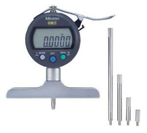 Mitutoyo 547 218s Digimatic Depth Gage 0 8 200mm Range 0005 0 01mm