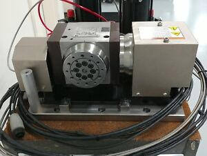 Tr110 Haas Trunnion Needs Rebuild 5 Axis Rotary With Break