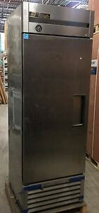 True T 23f One Section Solid Door Reach in Freezer