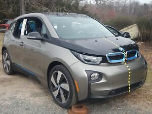 2017 Bmw I3 Front End Clip Nose Platinum Silver Deka World Nto Iihs Test Car