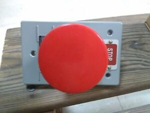 Ge Cr2940np501a Push Button Emergency Stop Red 1 nc Contact