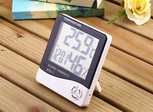 1 2 5x High Accuracy Lcd Digital Thermometer Hygrometer Electronic Tempera Htc 1