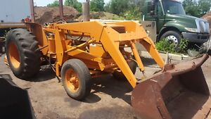 Case 380b Farm Tractor With Loader Pto Diesel