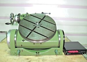 Rotary Table 20 Walter Tilting Rts 500 Ga 4th Axis Digital Readout Indexer Vise