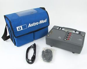 Astro med Inc Astro daq2 Data Acquisition Unit W Carrying Case