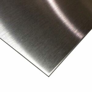 304 Stainless Steel Sheet 048 18 Ga X 12 X 24 4 Brushed Finish