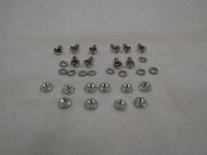 1928 1929 Ford Model A Closed Cab Pickup Rear Window Frame Screws