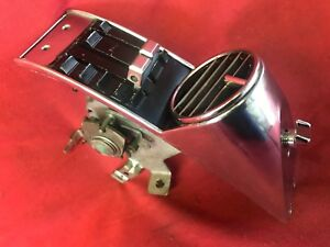 67 1967 Ford Mustang Deluxe Dash Ac Air Conditioner Heater Control Panel Switch