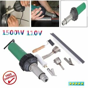 1500w Hot Air Torch Plastic Welding Gun Welder Pistol Speed Nozzle