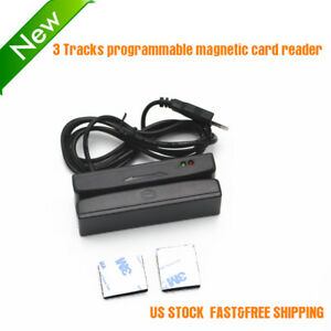 3 Tracks Programmable Magnetic Card Reader Msr100 Usb Otg rs232 Us