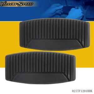 2 Pcs Dorman 20753 New Brake Pedal Replacement Pad For Ford Rubber Slip On Cover