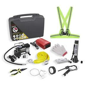 Car Emergency Kit With Air Compressor Bestek Auto Tool Set 300w Power Inverter