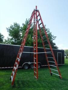 Werner E7416 16 Foot 300lb Rated Step Trestle Ladder A frame Illinois Pickup
