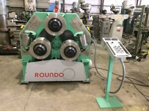Roundo R5 Angle Roll New Cylinders Encoders Led Displays Controls Tooling