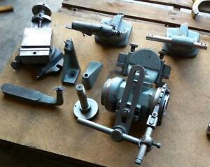 Nice Lot Of Tooling For Cincinnati 2 Grinder Excellent Condition