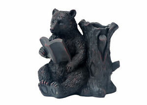 Expo Decor Llc Walnut Bear Desk Organizer