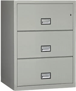 Phoenix Safe International 3 drawer Lateral Filing Cabinet